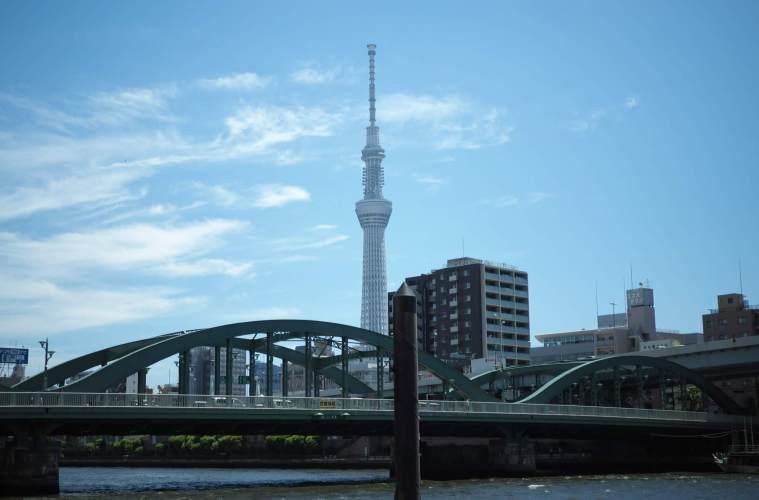 隅田川でハゼ釣り