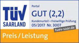 TÜV-geprüft: Gut in Preis und Leistung   assona