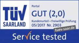 TÜV-geprüft: Gut in Servicequalität | Assona