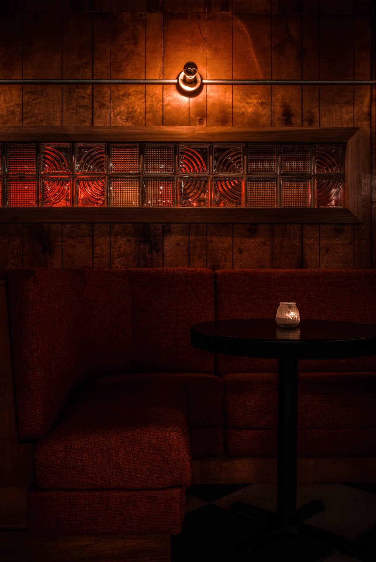 Hospitality Restaurant Photograph of Blind Barber Speakeasy in Philadelphia, PA