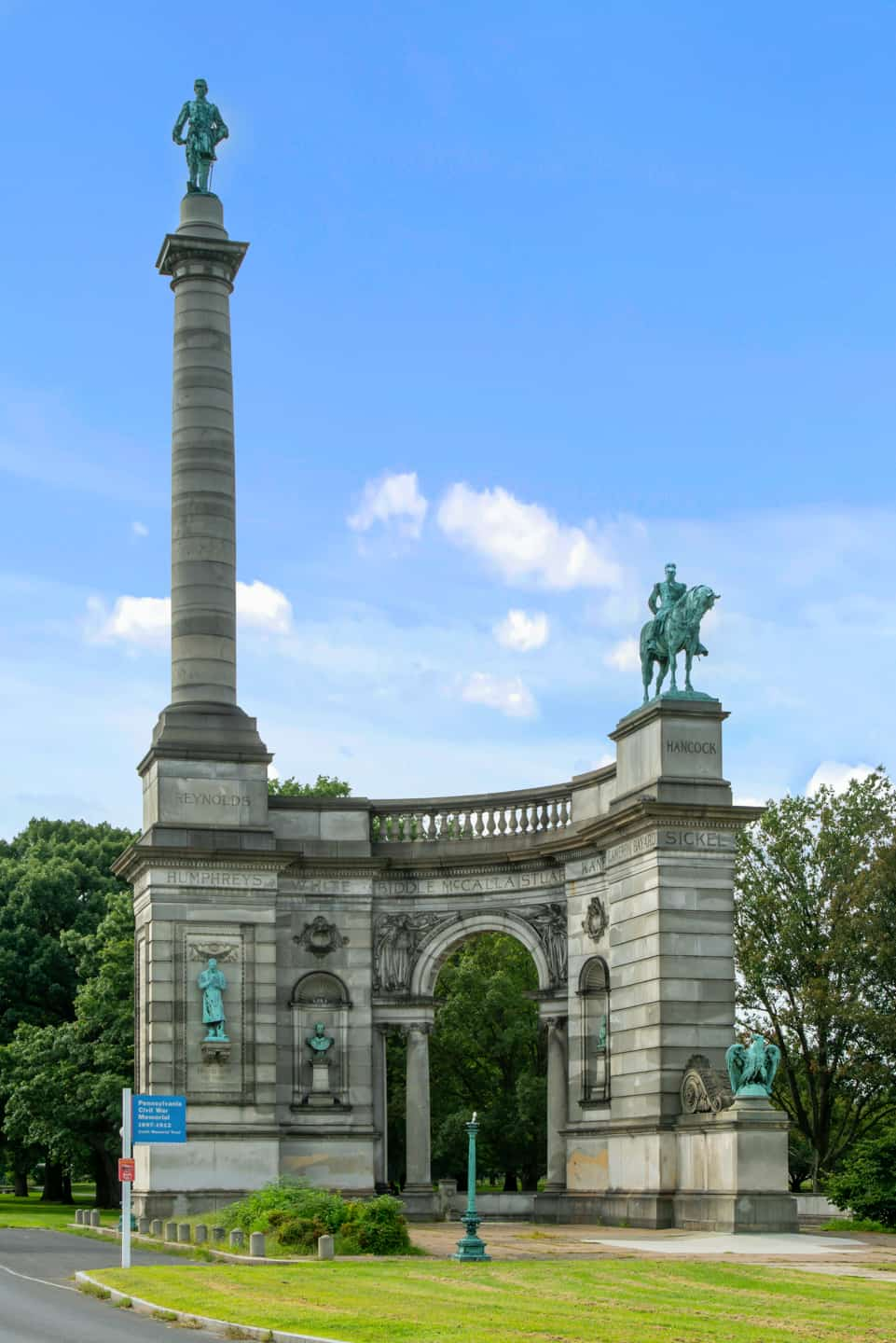 Photo of Philadelphia Landmark - Civil War Memorial