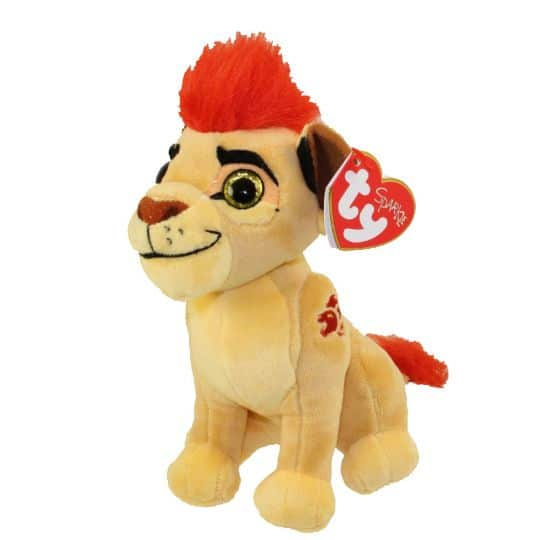 ty beanie baby kion the lion disney the lion guard mint