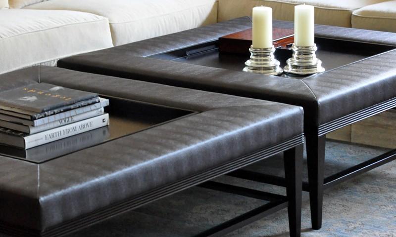 plush home carlisle coffee table ottoman