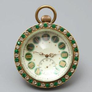 Антикварные механические часы-шар