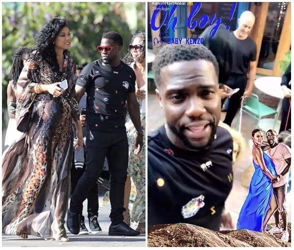 Kevin Hart And Wife Announce Son's Name In The Most Spectacular Way