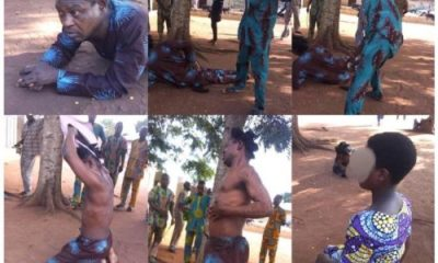 So Sad!! 55year Old Nigerian Pastor Severly Beaten For Abducting And Impregnating 10-year Old Girl