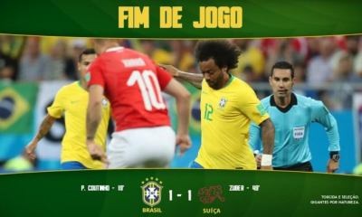 DOWNLOAD VIDEO: Brazil vs Switzerland 1-1Highlights & Goals