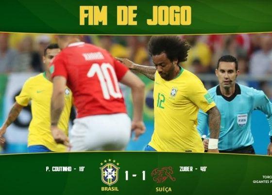 DOWNLOAD VIDEO: Brazil vs Switzerland 1-1Highlights & Goals