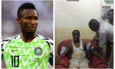 """""""I was told of my father's kidnap 4 hours before we played argentina"""" - Mikel Obi"""