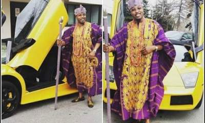 "Do You Agree? ""I Am Richer Than The Richest Man In The World""- Oluwo Of Iwo Brags"