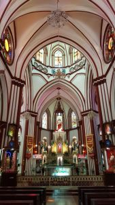 Interiors of Sacred Hearts