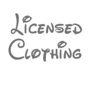 Character Licensed Clothing