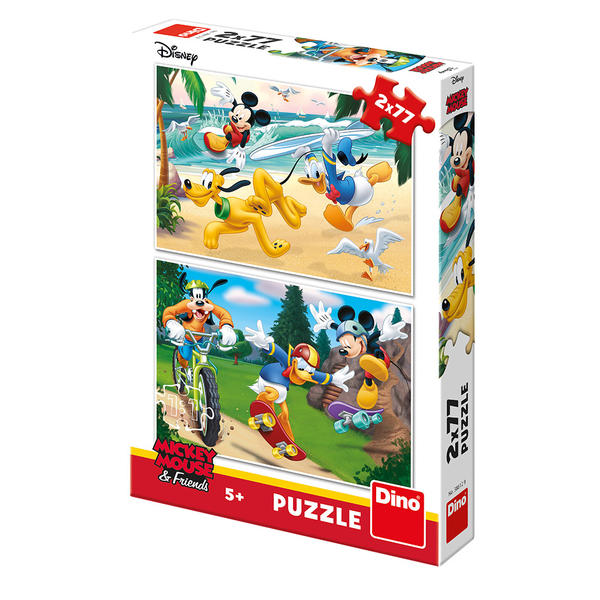 Mickey Friends sports puzzle