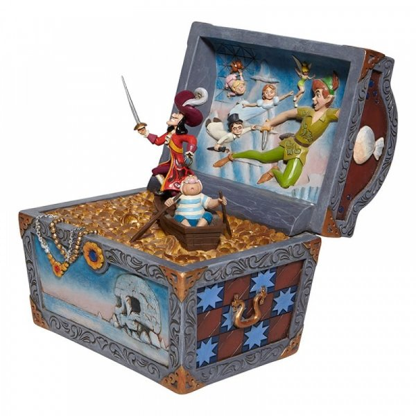 strewn Tableau - Peter Pan Flying Scene Figurine