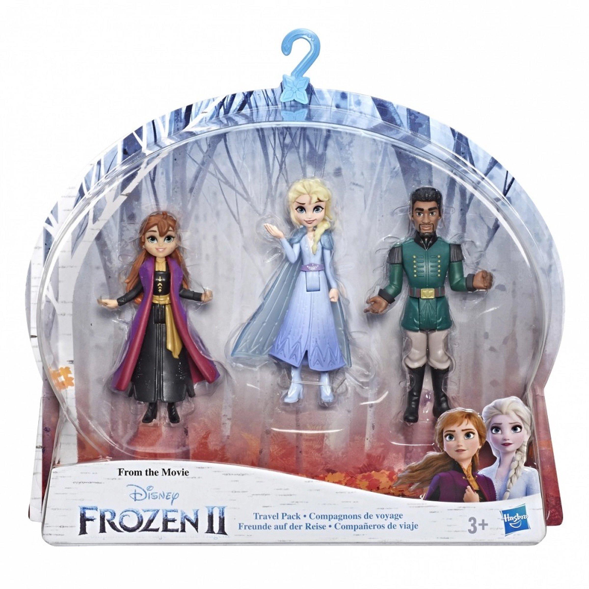Disney Frozen Anna, Elsa, and Mattias Small Dolls 3-Pack