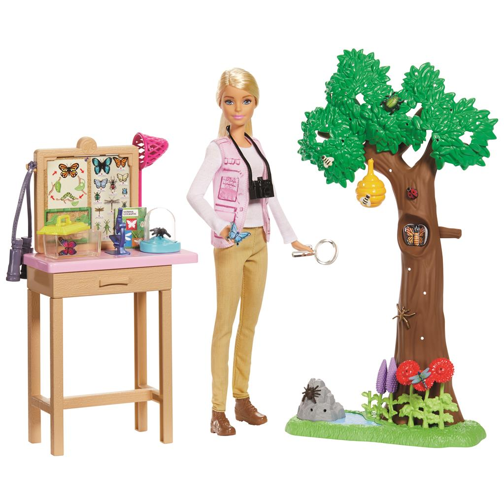 Barbie National Geography
