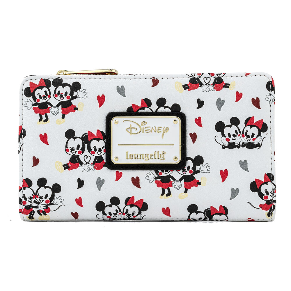 Mickey and Minnie heart purse