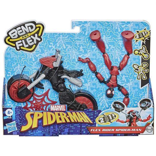 Bend and Flex Spider Man Marvel Flex Rider