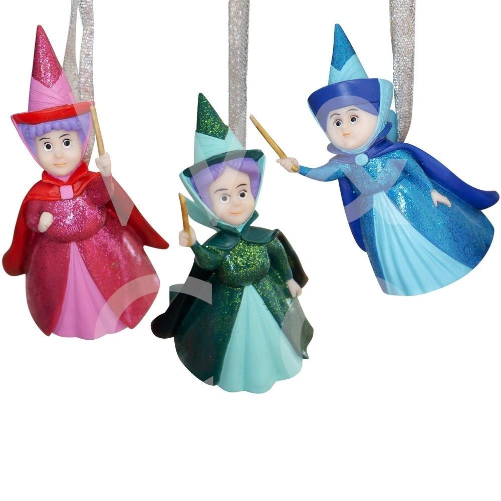 Disney Sleeping Beauty Set of 3 Fairy Godmothers