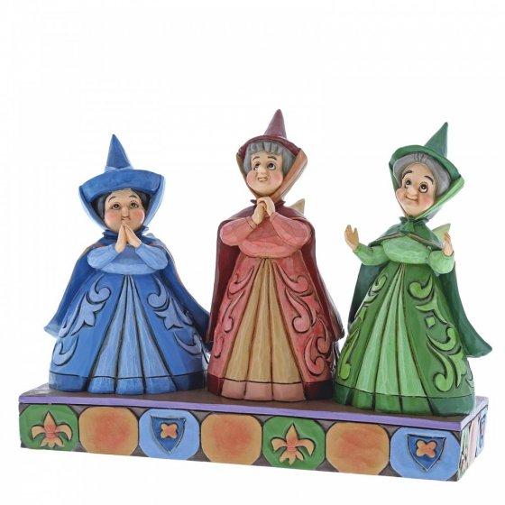 Royal Guests - Disney Traditions (Three Fairies Figurine)