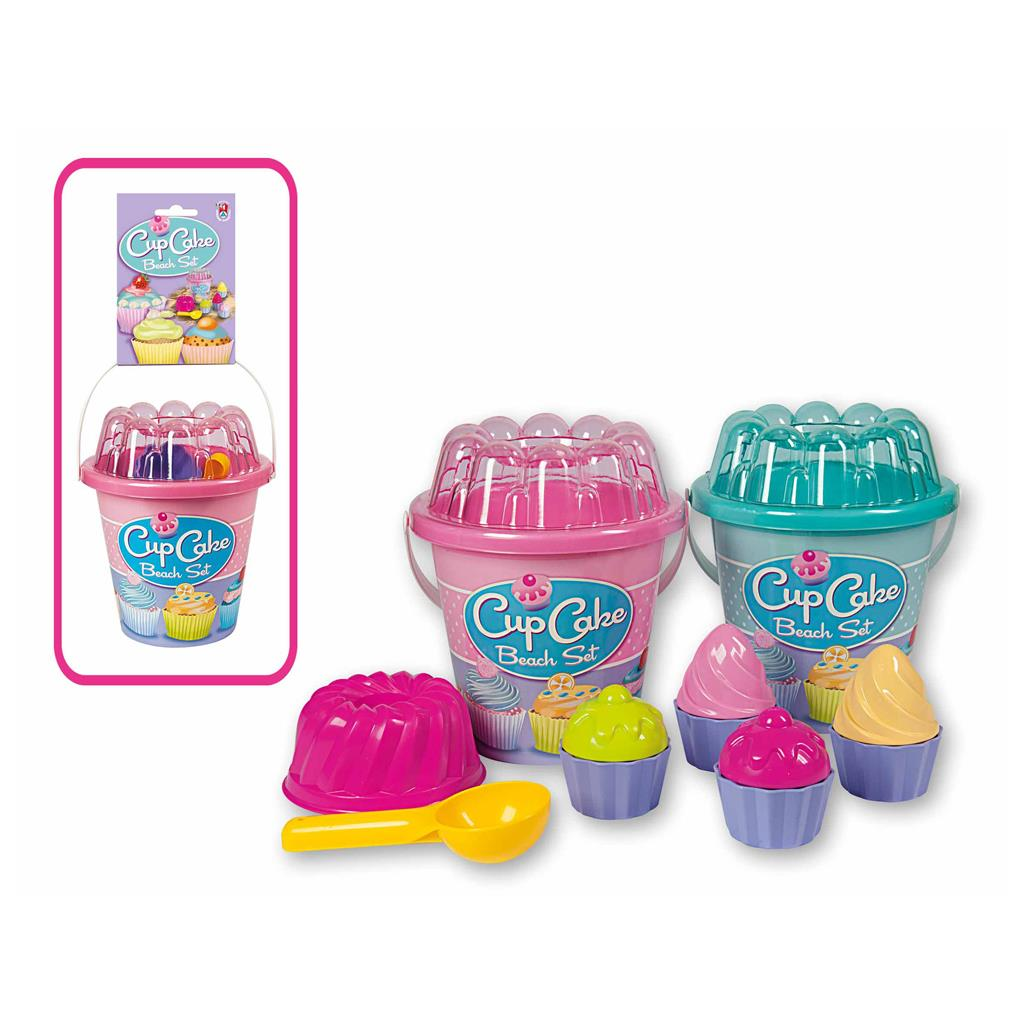 Beach Cupcake Bucket Set