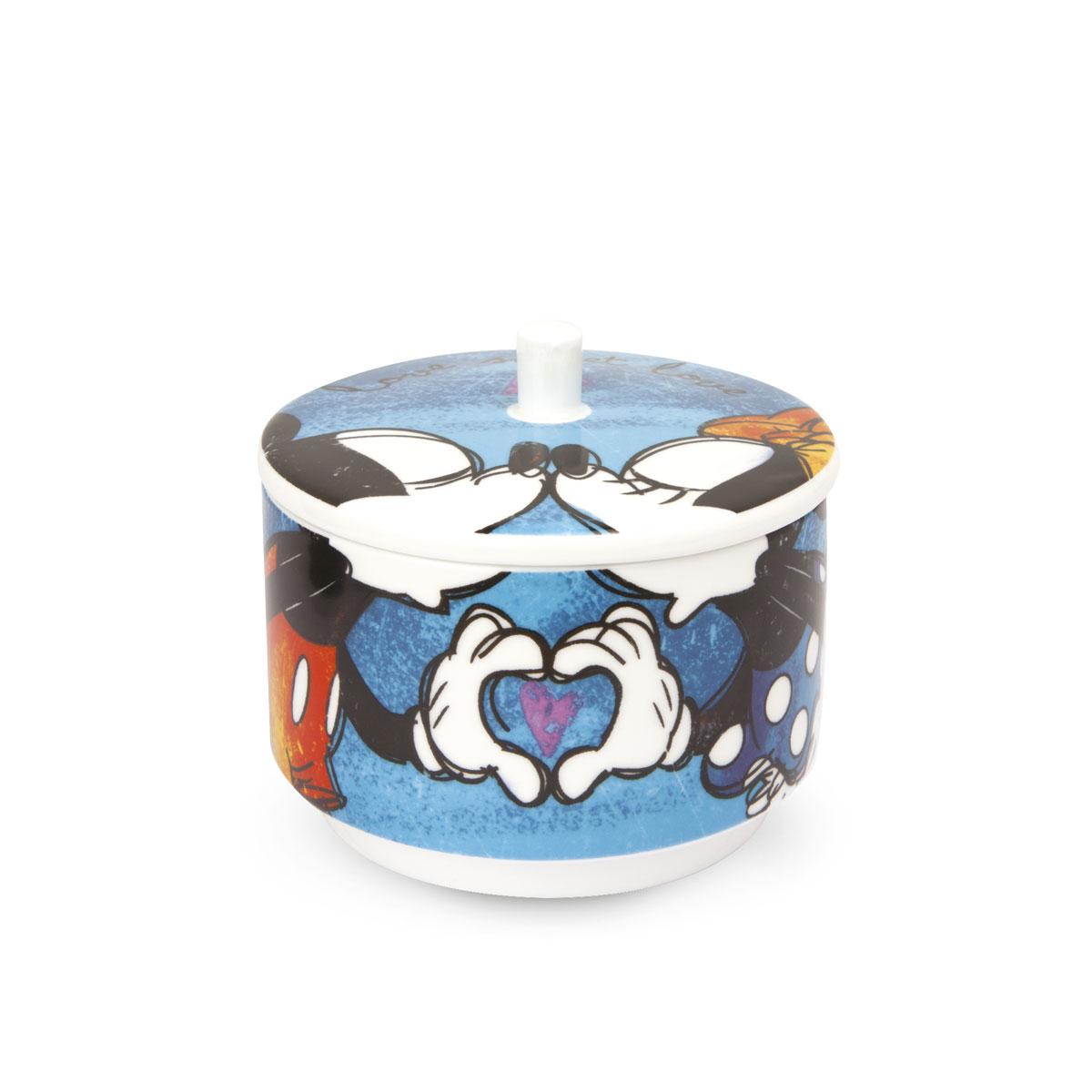 Mickey Mouse Sugar Bowl Blue
