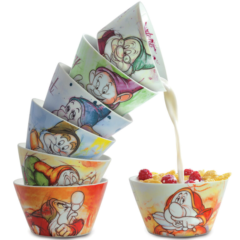 Bowl Sleepy 7 Dwarfs - Disney Home - Snow White.