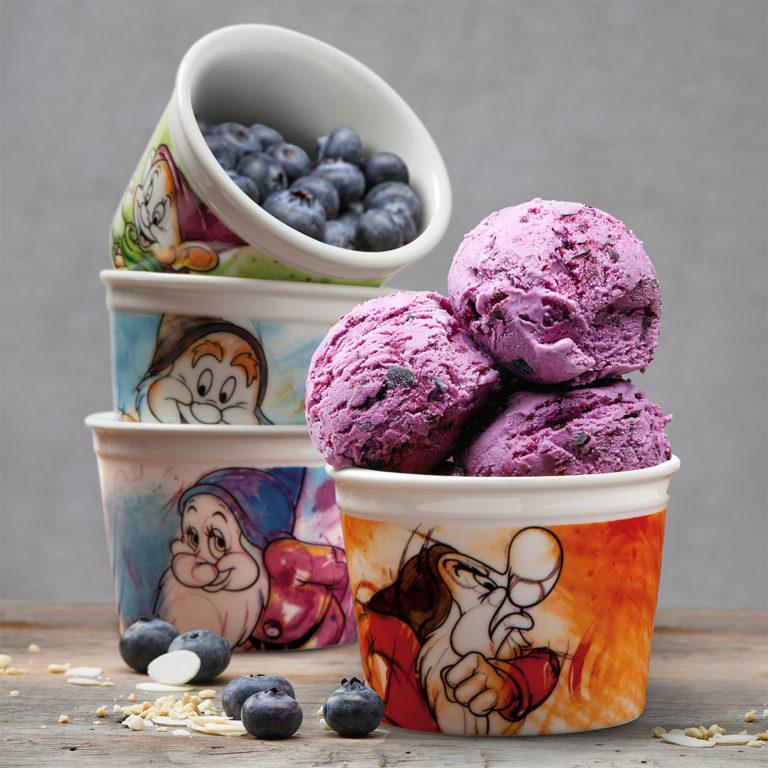 Ice Cream Doc Cup With Spoon 7 Dwarfs - Disney Home
