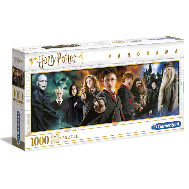 Harry Potter Characters Panorama Puzzle 1000pz