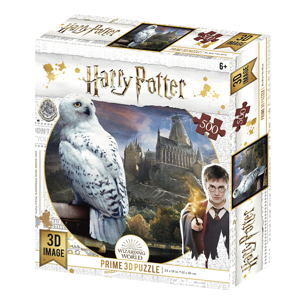 Harry Potter Hedwig Puzzle