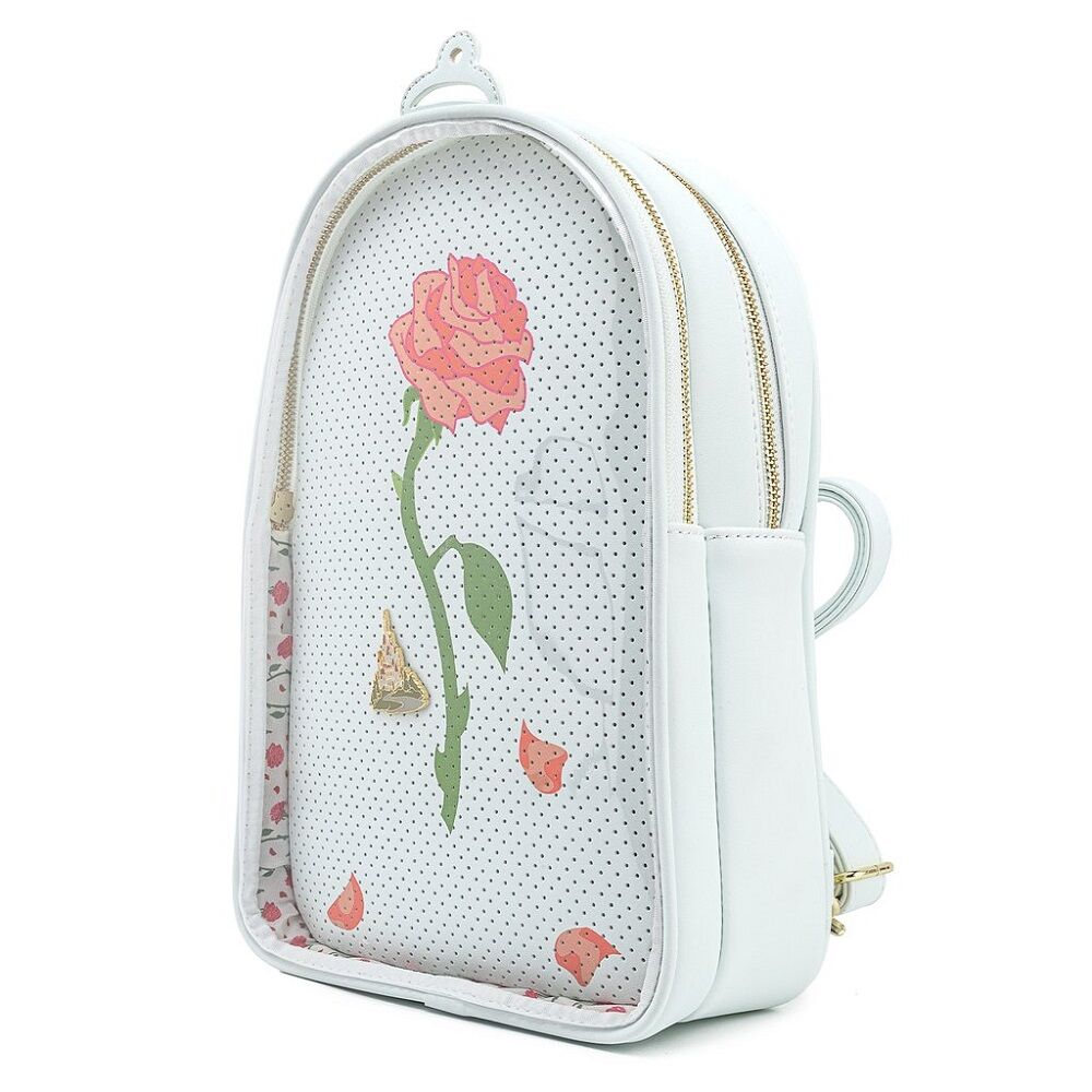 Loungefly Disney Rose Backpack Beauty And The Beast