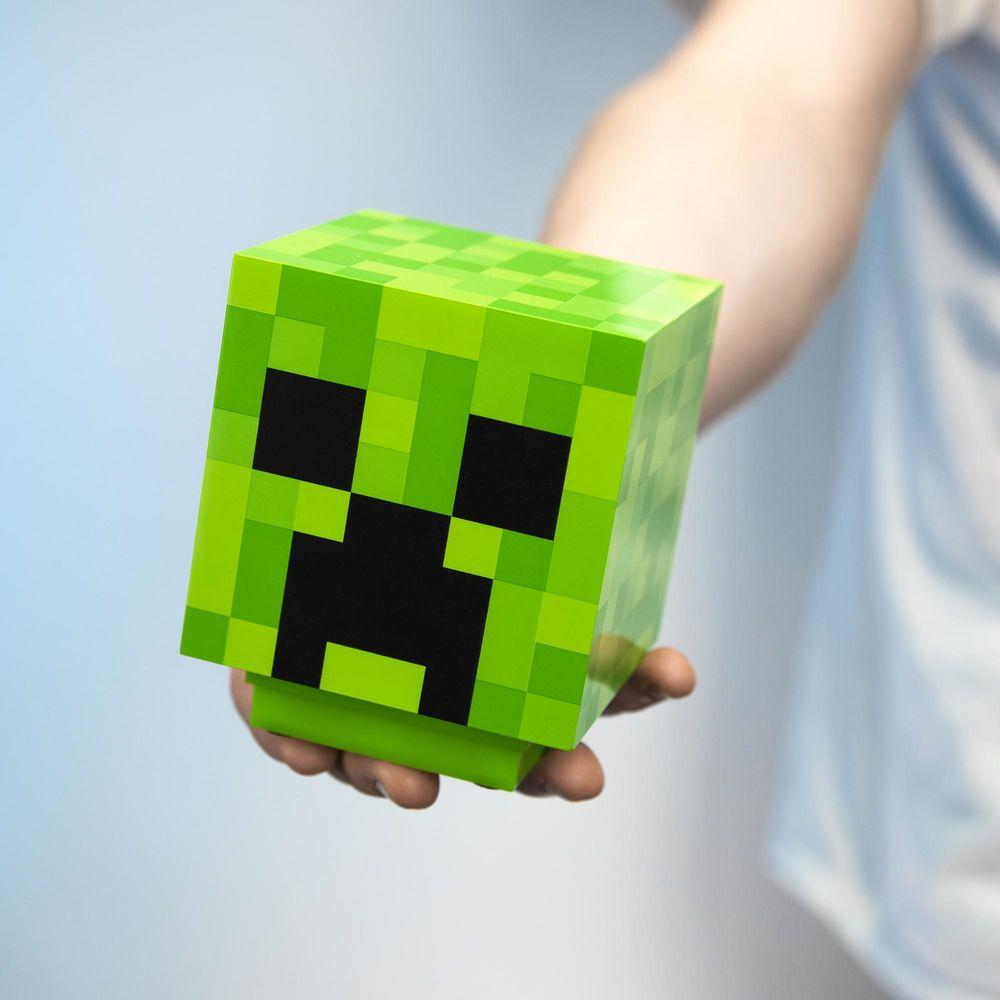 Minecraft Creeper Lamp