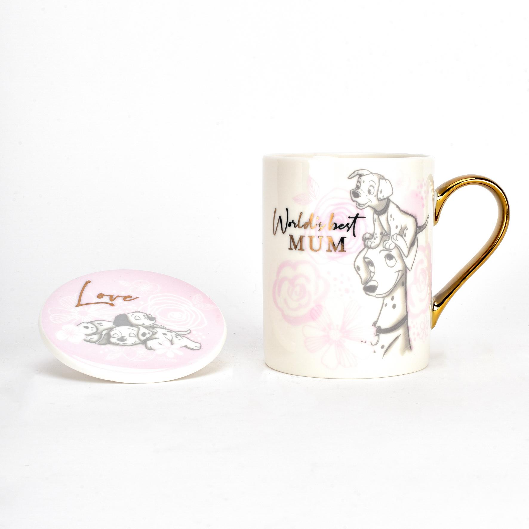 Disney Dalmatioans Gift Set - Mug & Coaster - Mum