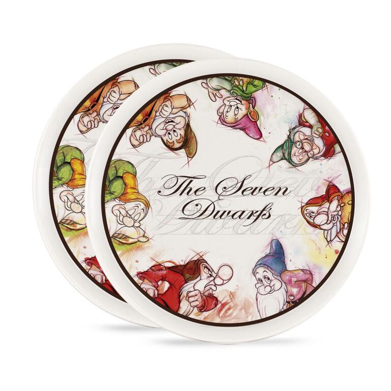 Seven Dwarfs Pizza Plates