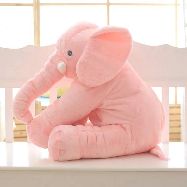 Pink Elephant Plush Toys