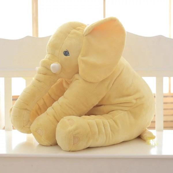 Yellow Elephant Plush Toys