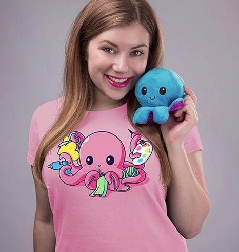 Reversible Emotional Octopus