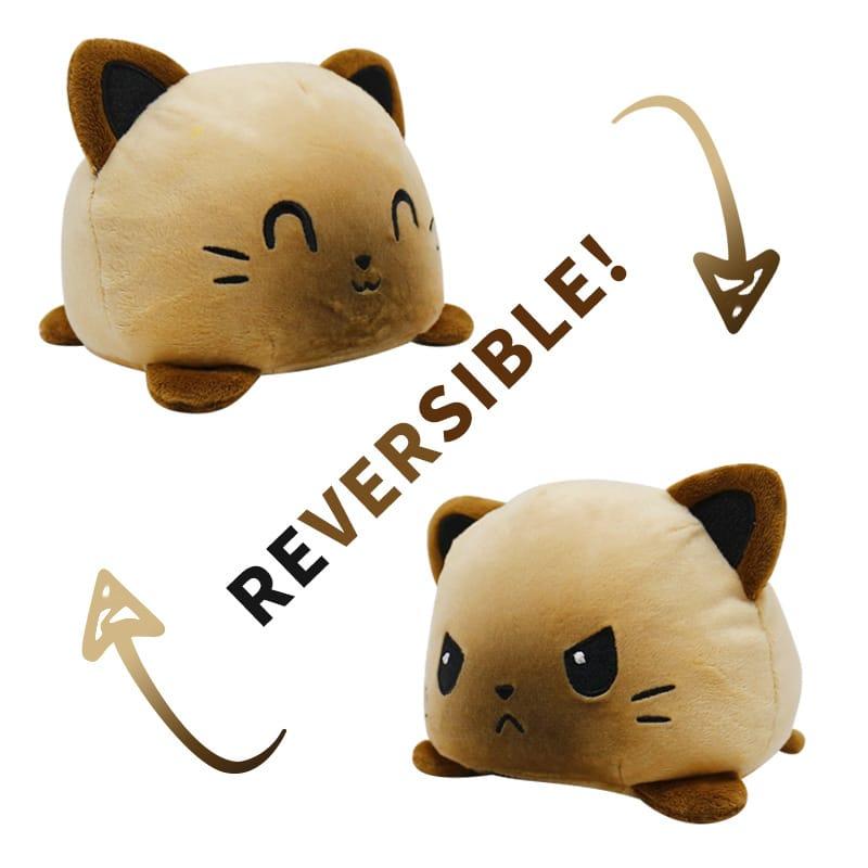 Brown Reversible Mood Cat