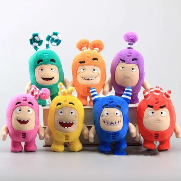 Stuffed Oddbods Plush Toys