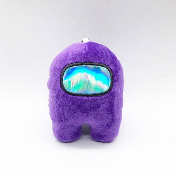 Purple Among Us Crewmate Doll