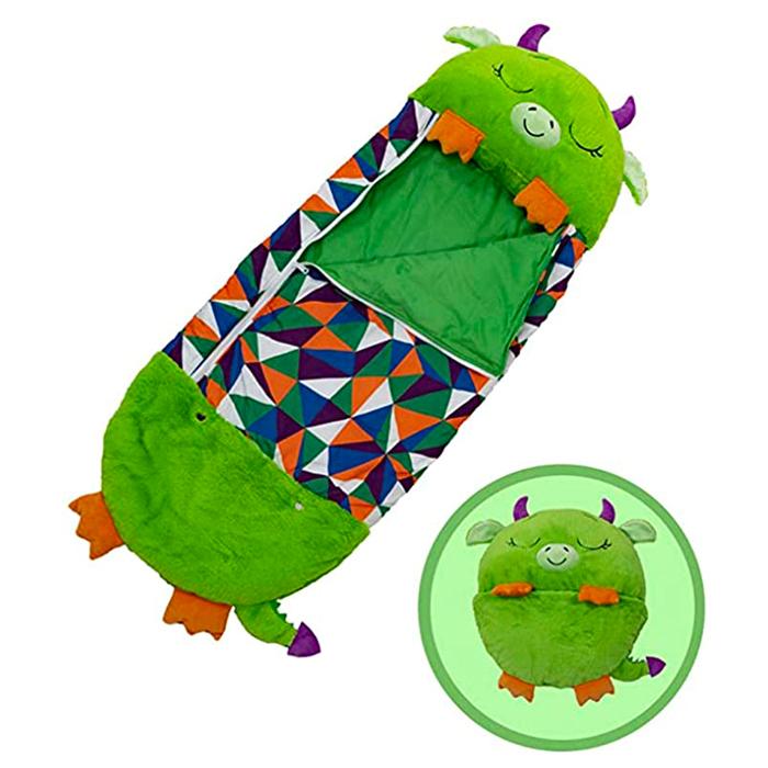 Dragon 3 in 1 Sleeping Bag Plush Toy