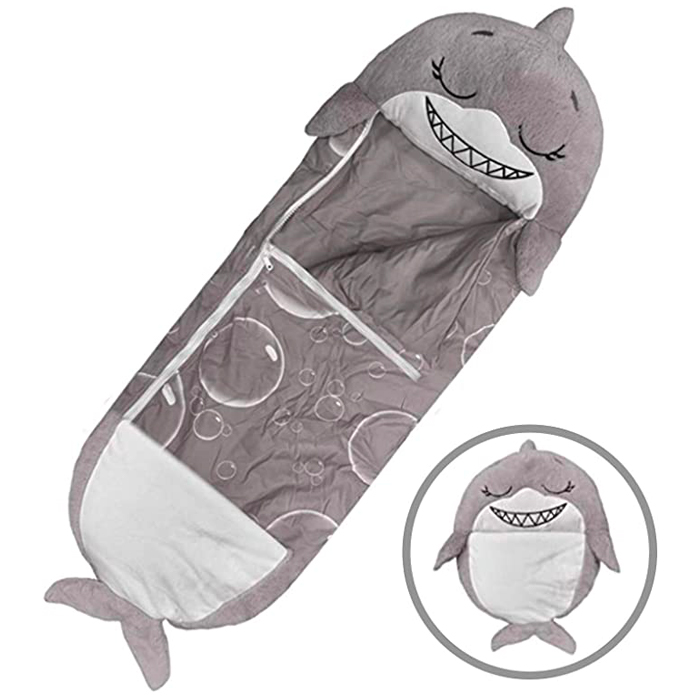 Shark 3 in 1 Sleeping Bag Plush Toy