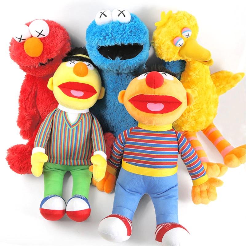 Stuffed Sesame Street Plush Dolls