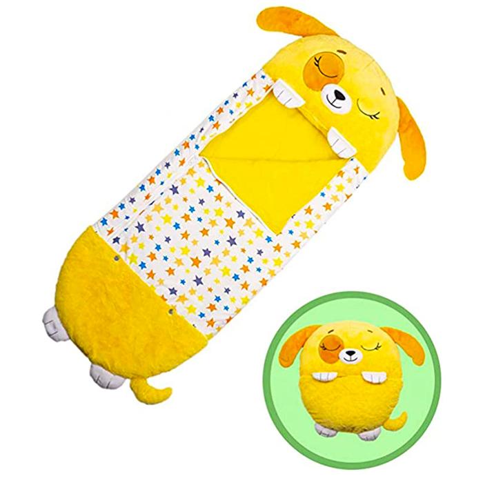 Dog 3 in 1 Sleeping Bag Plush Toy