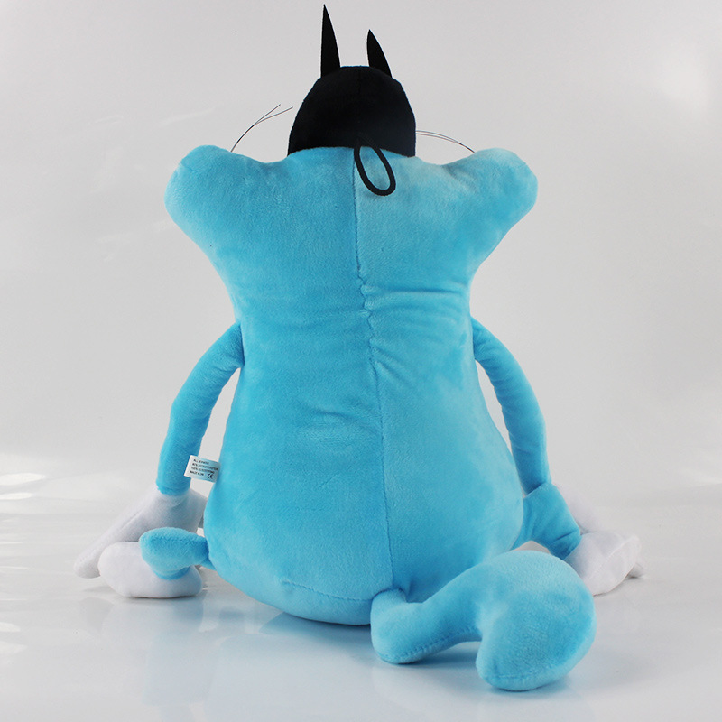 Oggy and the Cockroaches Plush Cat Doll