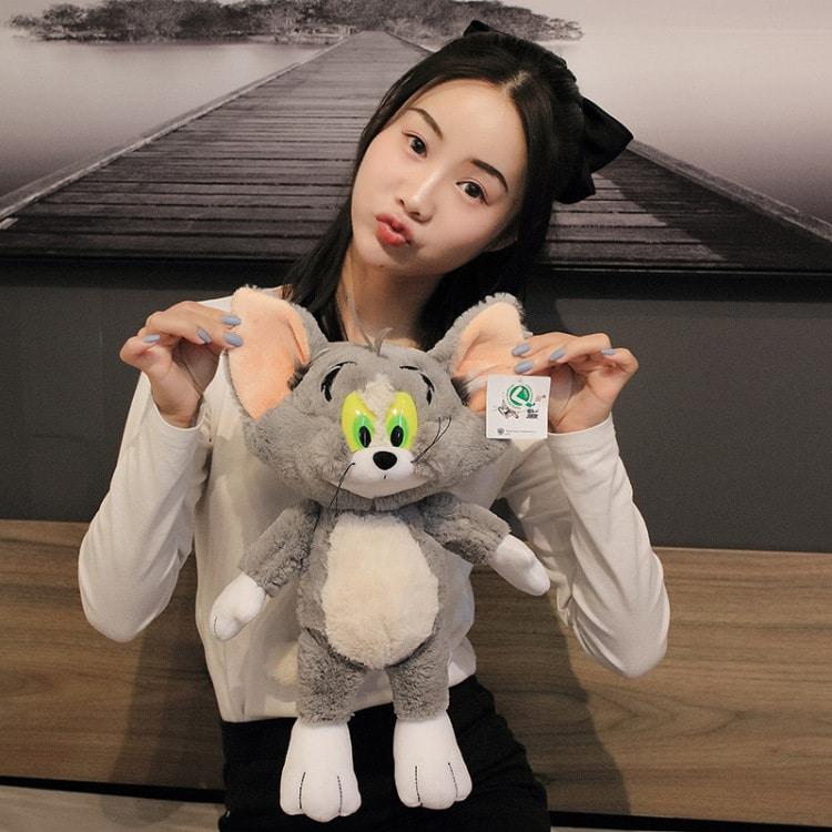 Stuffed Tom and Jerry Plushie Dolls