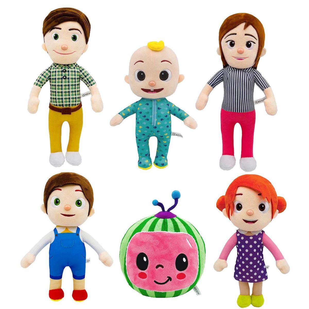 Stuffed Cocomelon Family Plush Dolls