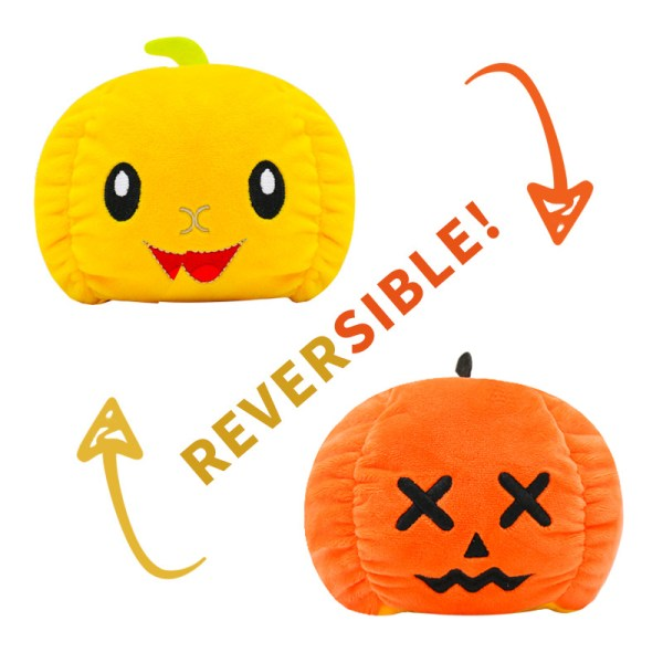 Reversible Pumpkin Plush Toy