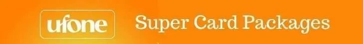 ufone super card packages