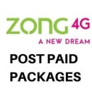 Zong Post paid internet packages